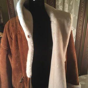 NWOT Leather Coat